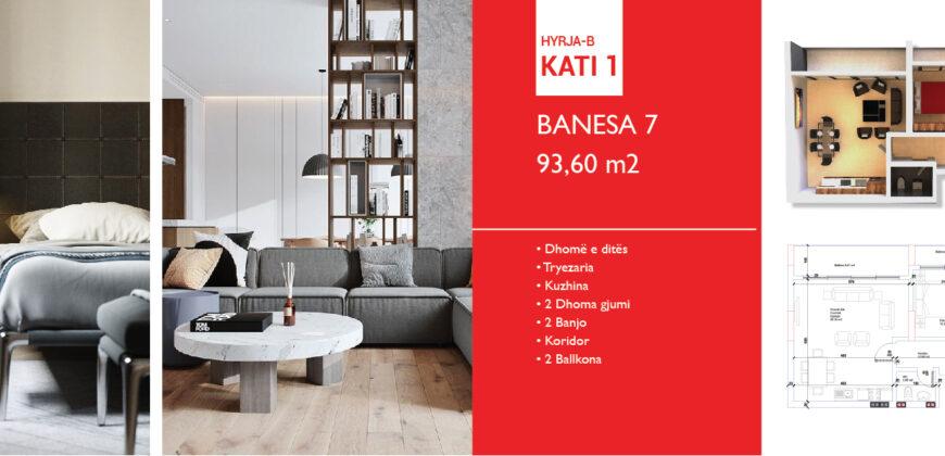 Banesa 7 Hyrja B