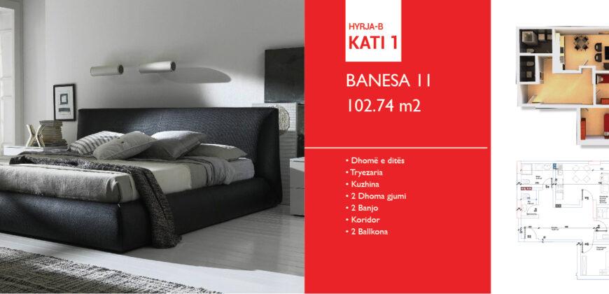 Banesa 11 Hyrja B