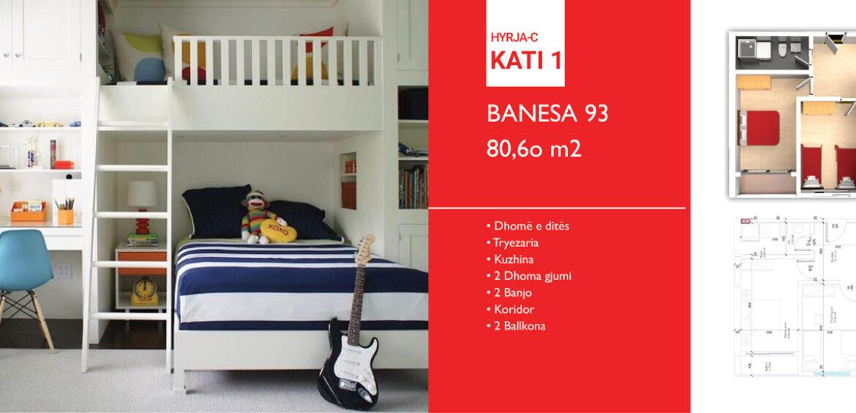 Banesa 93 Hyrja C***REZERVUAR